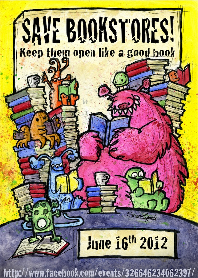 save-bookstores poster